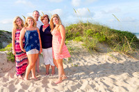 Large Family photography on South Padre Island